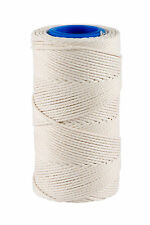 White /White Bakers Butchers Catering String / Twine Craft 190g = 100m