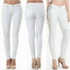 WHITE SKINNY JEANS TILL PLUS SIZE (SIZE 27)