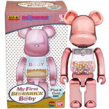 Medicom Chogokin Bearbrick Baby My First Be@rbrick B@by 200% [Pink & Gold Ver.]