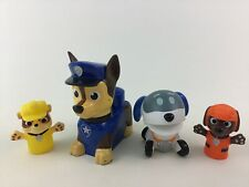 Paw Patrol Toys Finger Puppet Zuma Rubble Robo Pup 4pc Spin Master E10