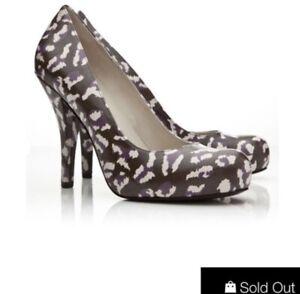 $485 Marc By Marc Jacobs Leopard Pumps Size 8