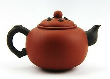 CHINESE YIXING ZISHA CLAY ARTISTIC RED BEAUTIFUL TEAPOT AND COVER NEW # 38