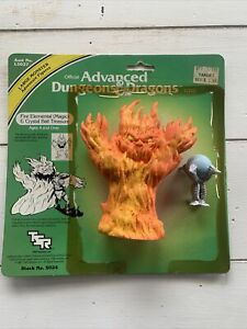 1983 TSR Advanced Dungeons and Dragons Fire Elemental w/ Crystal Ball /Card