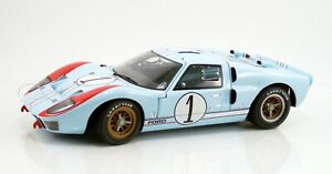 1966 Ford GT40 Mark II 1:12 Scale #1 Ken Miles Ford vs. Ferrari ACME MINT IN BOX