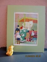 vintage circus illustration/clown, children, bear by Gertrude Alice Kay 1927