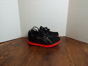 Asics MetaRide 'Black Classic Red' Shoes Women's Size 8 1012A130-001 MSRP $250