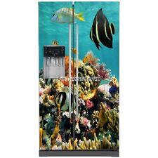 Adesivi frigorifero americano Sfondo marino 100x180cm 5763 5763