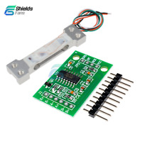 24 Bit HX711 Dual Channel Precision A/D Module+100g Weighing Load Cell Sensor