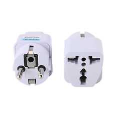 USA US UK AU To EU Europe Travel Home Charger Power Adapter Converter Wall Plug