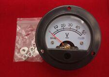 Dc 0 50v Analog Voltmeter Analogue Voltage Panel Meter Dia 664mm Dh52