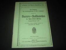 """Die Tätigkeit des Landungskorps S.M.S. """"Habicht"""" während des Herero-Aufstandes"""
