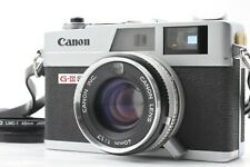 NEAR MINT Canon canonet QL17 GIII Rangefinder Film Camera w/ strap  JAPAN #135