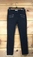 Madewell Skinny Skinny Jeans Womens Size 26 Ankle Slim Stretch Mid Rise Black