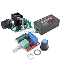 DC8-55V 10A/5V-35V 5A PWM Motor Speed Controller Regulator Dimmer LED Display