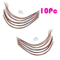 10x Micro JST 2.0 PH 6-Pin Connector Plug with Wires Cables 300MM Male & Female