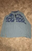 NWT Adidas Golf 1/4 Zip Long Sleeve Jacket Green CY7442 Mens Sz M
