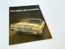 1972 Mercury Marquis Brochure