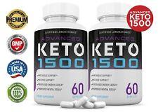 Advanced Keto 1500 Weight Loss Diet Pills goBHB Ketogenic Supplement 2 Pack