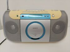 Sony CFD-E100L Portable CD Cassette Recorder FM Radio HG63