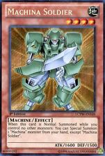YuGiOh Machina Soldier (LCYW-EN168) 1st Edition - Secret Rare Mint