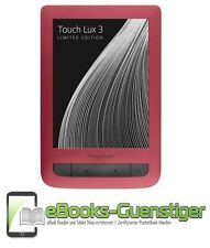 PocketBook Touch Lux 3 - Ebook Reader - Ruby Red - 1 Tag Lieferung - 10 % SALE