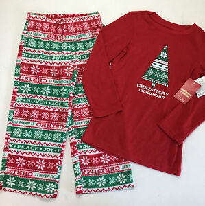 Boys Pajamas Size 4 Jammies For Your Families. Christmas Like You Mean It