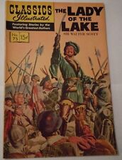 Classics Illustrated #75 Hrn 167 Very Fine Condition The Lady Of The Lake