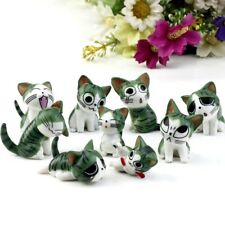 Miniature Cats Garden Ornament Figurine Fairy Dollhouse Micro Landscape Decor