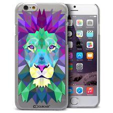 Coque Housse Etui Pour iPhone 6 Plus 5.5 Polygon Animal Rigide Fin  Lion