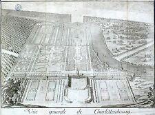 BERLIN - Schloss Charlottenburg - Martin Engelbrecht - Kupferstich 1717