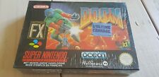 ♕* Super Nintendo * DOOM * SNES * FAH * Sealed Old Stock * RARE *
