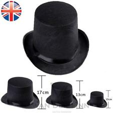 *UK Seller* 3 Sizes Kid Adult Top Hat Fancy Dress Magician Mad Hatter Victorian