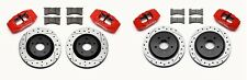 Wilwood Front & Rear Replacement Caliper & Rotor Kit 1997-13 C-5 & C-6 Corvette