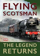 Flying Scotsman - The Legend Returns (New DVD) Steam Engines Railways The