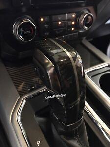 Ford HL3Z-7213-HB OEM Carbon Fiber Shift Handle 2015-2020 F-150 & SVT Raptor NEW