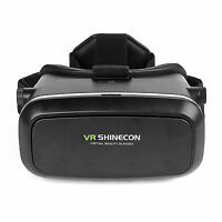 VR 3D Glasses Helmet Virtual Reality Box for Android IOS 3.5-6.0 inch Smartphone