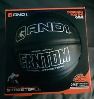 AND1 Basketball - New & Sealed - Black Fantom Basket Ball official size