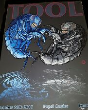 TOOL PEPSI CENTER DENVER OCT 26TH 2016 OFFICIAL POSTER HAND NUMBERED MINT RARE!!