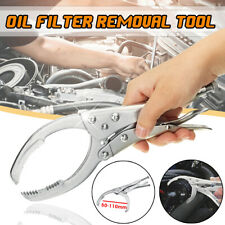 Adjustable Oil Filter Wrench Pliers Remover 50-110mm Auto Car Removal Tool