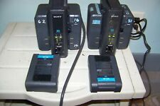 2x Sony BC-L50 Chargers + 6x BP-L40 Batteries for Professional Video Cameras