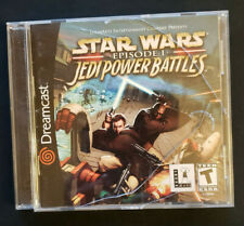 Star Wars: Episode I: Jedi Power Battles (Sega Dreamcast, 2000) CIB Complete
