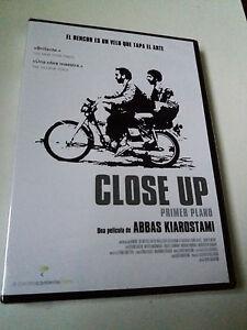 "DVD ""CLOSE UP"" PRECINTADO SEALED ABBAS KIAROSTAMI PRIMER PLANO"