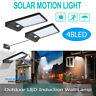 48 LEDs Solar Power 3 Modes IP65 Motion Sensor Wall Lights Outdoor Safety Lamp