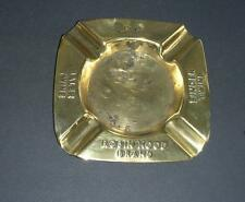 Old Brass ashtray advertising ' Robin Hood Brand ' baler twine -- agriculture