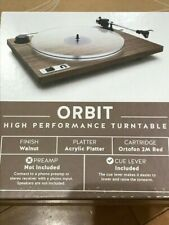 U-Turn Audio Orbit Special Turntable In Walnut - Brand New Never Out of The Box