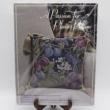 Cross Stitch Kit A Passion for Plums Pillow Donna Vermillion Giampa DVG 06 NIP