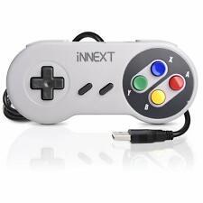 iNNEXT SNES Retro USB Controller Gamepad Joystick for PC Windows XP, 7, 8, 10