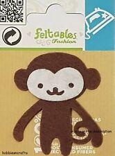Feltables Fashion hierro en apliques Motif Parche Pequeño Mono