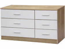 MDF/Chipboard Less than 60cm 6 Chests of Drawers