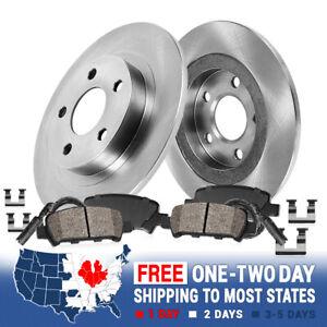 Rear Brake Rotors & Ceramic Pads For Chrysler PT Cruiser Sebring Stratus Neon